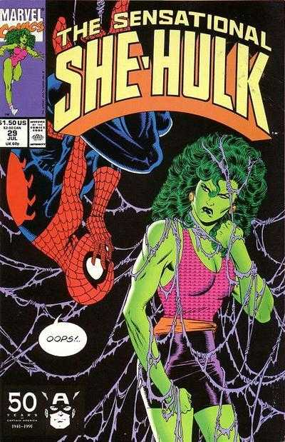 The Sensational She-Hulk - 29 (1991)