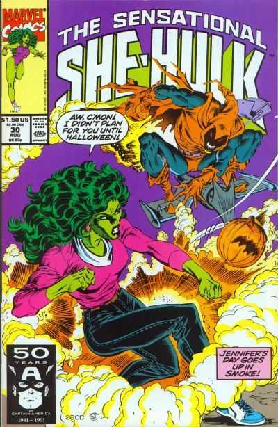 The Sensational She-Hulk - 30 (1991)