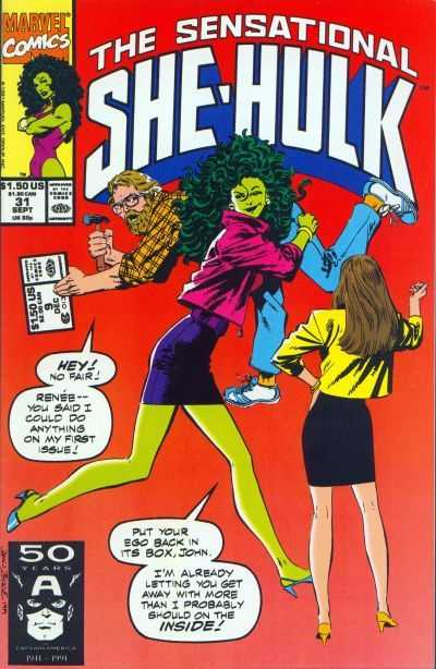 The Sensational She-Hulk - 31 (1991)