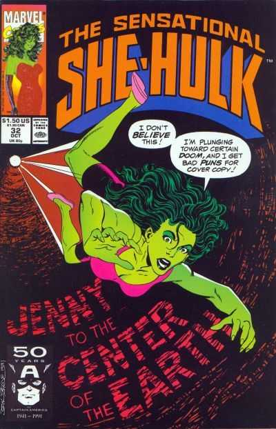The Sensational She-Hulk - 32 (1991)