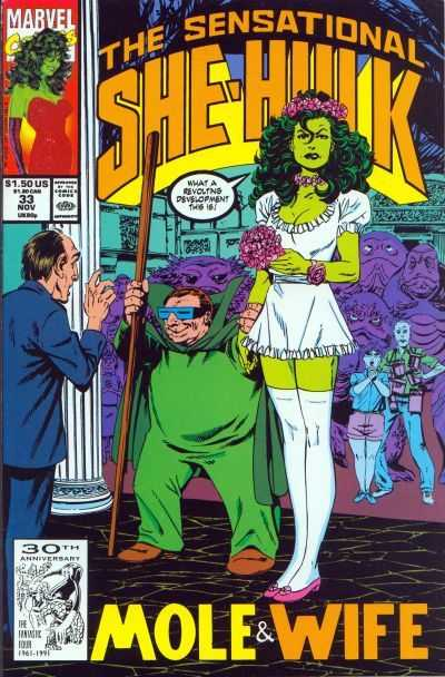 The Sensational She-Hulk - 33 (1991)