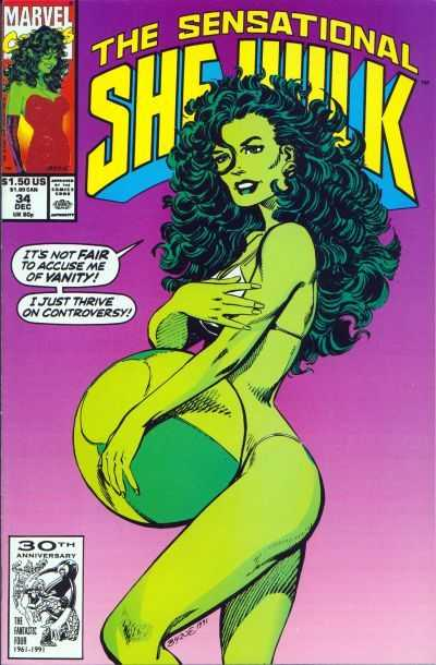 The Sensational She-Hulk - 34 (1991)