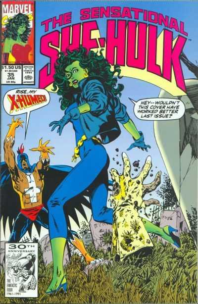 The Sensational She-Hulk - 35 (1992)