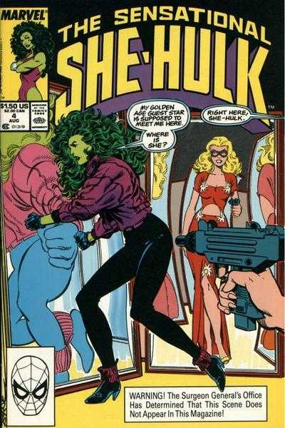 The Sensational She-Hulk - 4 (1989)