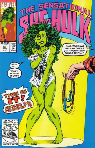 The Sensational She-Hulk - 40 (1992)