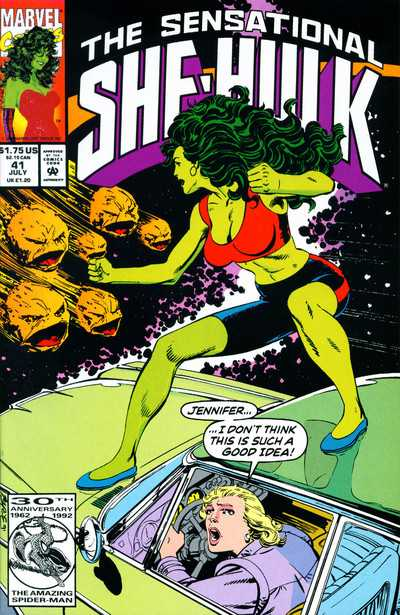 The Sensational She-Hulk - 41 (1992)