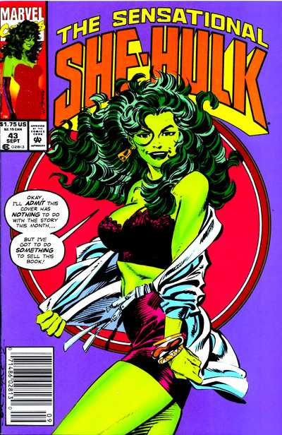 The Sensational She-Hulk - 43 (1992)