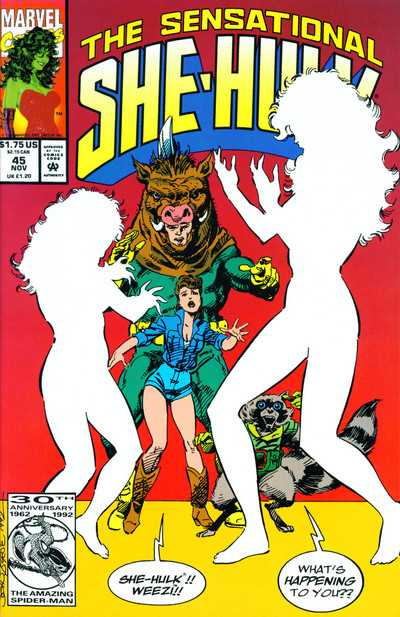The Sensational She-Hulk - 45 (1992)