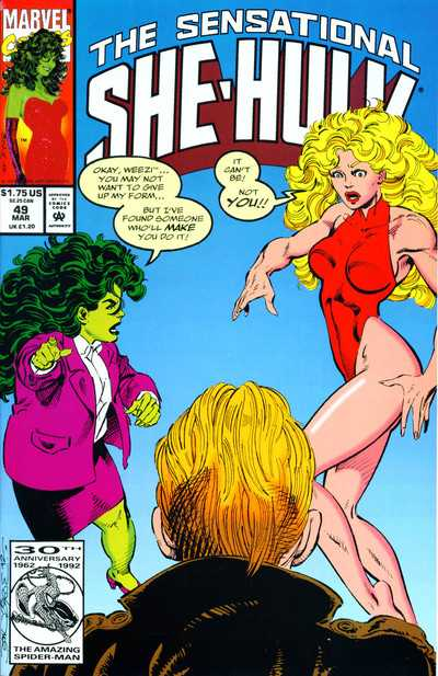 The Sensational She-Hulk - 49 (1993)