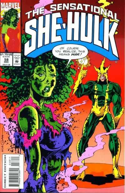 The Sensational She-Hulk - 58 (1993)