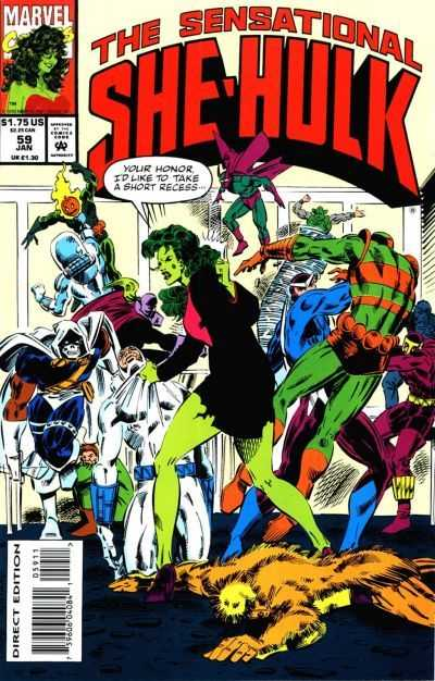 The Sensational She-Hulk - 59 (1994)