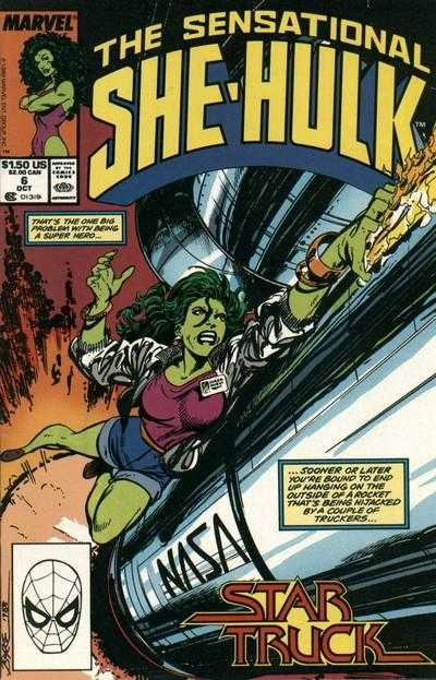 The Sensational She-Hulk - 6 (1989)