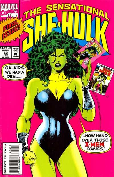 The Sensational She-Hulk - 60 (1994)