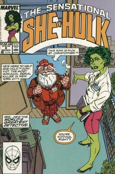 The Sensational She-Hulk - 8 (1989)