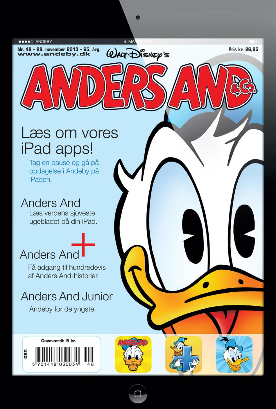 Anders And & Co. nr.  48 - 2013 (stor)