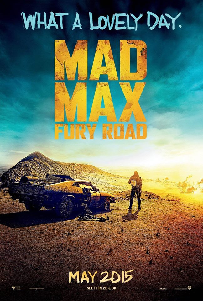 Mad Max - Fury Road - plakat - poster