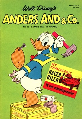 Anders And & Co. nr.  10 - 1966 (lille)