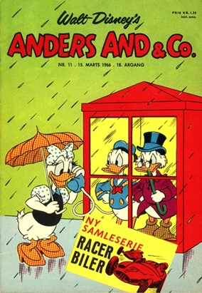 Anders And & Co. nr.  11 - 1966 (lille)