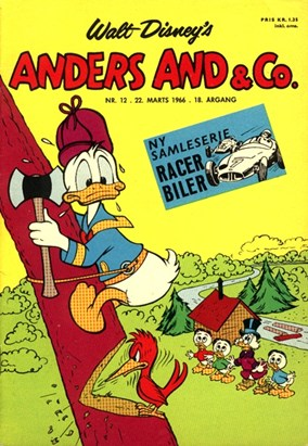 Anders And & Co. nr.  12 - 1966 (lille)