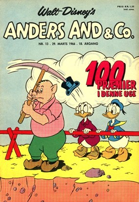 Anders And & Co. nr.  13 - 1966 (lille)