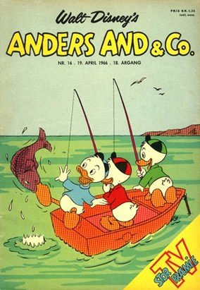 Anders And & Co. nr.  16 - 1966 (lille)