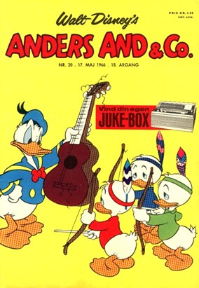 Anders And & Co. nr.  20 - 1966 (lille)