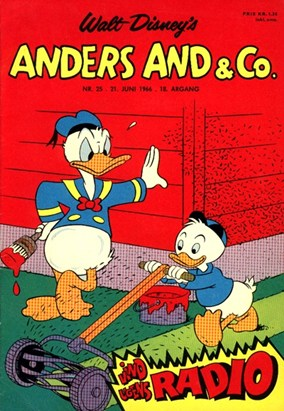 Anders And & Co. nr.  25 - 1966 (lille)