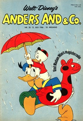 Anders And & Co. nr.  28 - 1966 (lille)