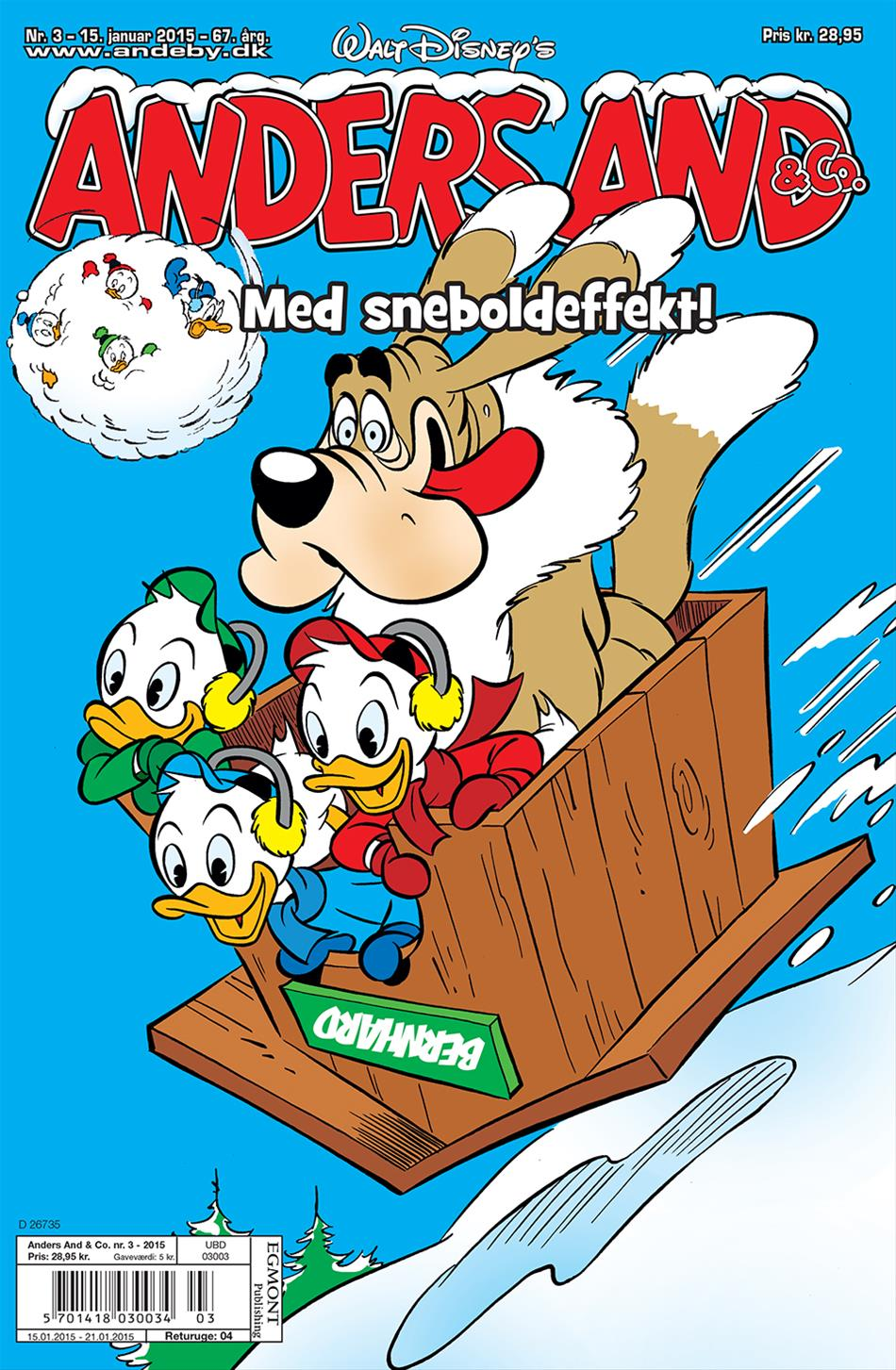 Anders And & Co. nr. 3 - 2015