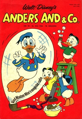 Anders And & Co. nr.  30 - 1966 (lille)