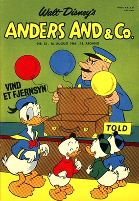Anders And & Co. nr.  33 - 1966 (lille)