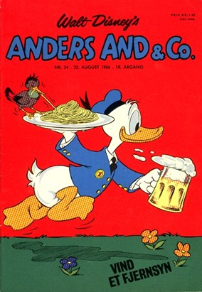 Anders And & Co. nr.  34 - 1966 (lille)