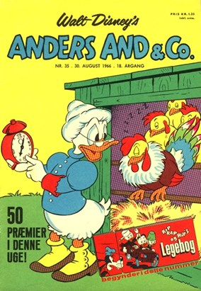 Anders And & Co. nr.  35 - 1966 (lille)