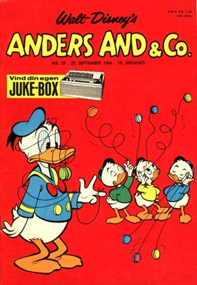 Anders And & Co. nr.  39 - 1966 (lille)