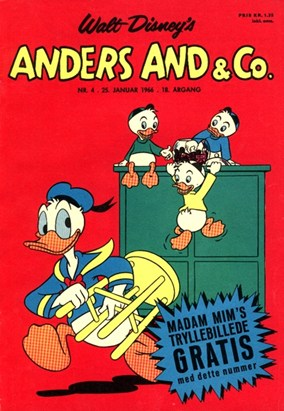 Anders And & Co. nr.  4 - 1966 (lille)