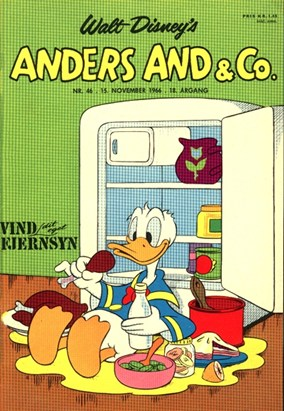 Anders And & Co. nr.  46 - 1966 (lille)