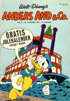 Anders And & Co. nr.  47 - 1966 (lille)