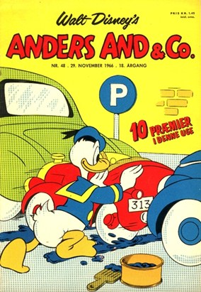 Anders And & Co. nr.  48 - 1966 (lille)