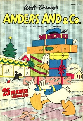 Anders And & Co. nr.  51 - 1966 (lille)
