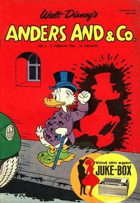 Anders And & Co. nr.  6 - 1966 (lille)