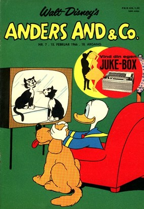 Anders And & Co. nr.  7 - 1966 (lille)
