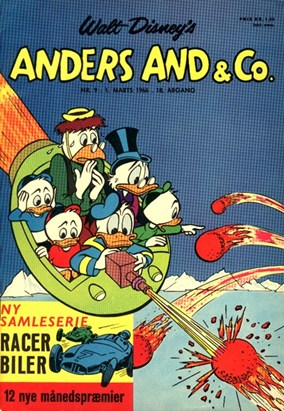 Anders And & Co. nr.  9 - 1966 (lille)