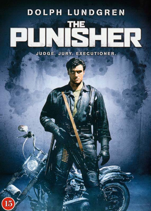 The Punisher - 1989 - dvd - Dolph Lundgren - Fiktion & Kultur