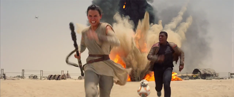 Screen Shot - Star Wars the Force Awakens 9