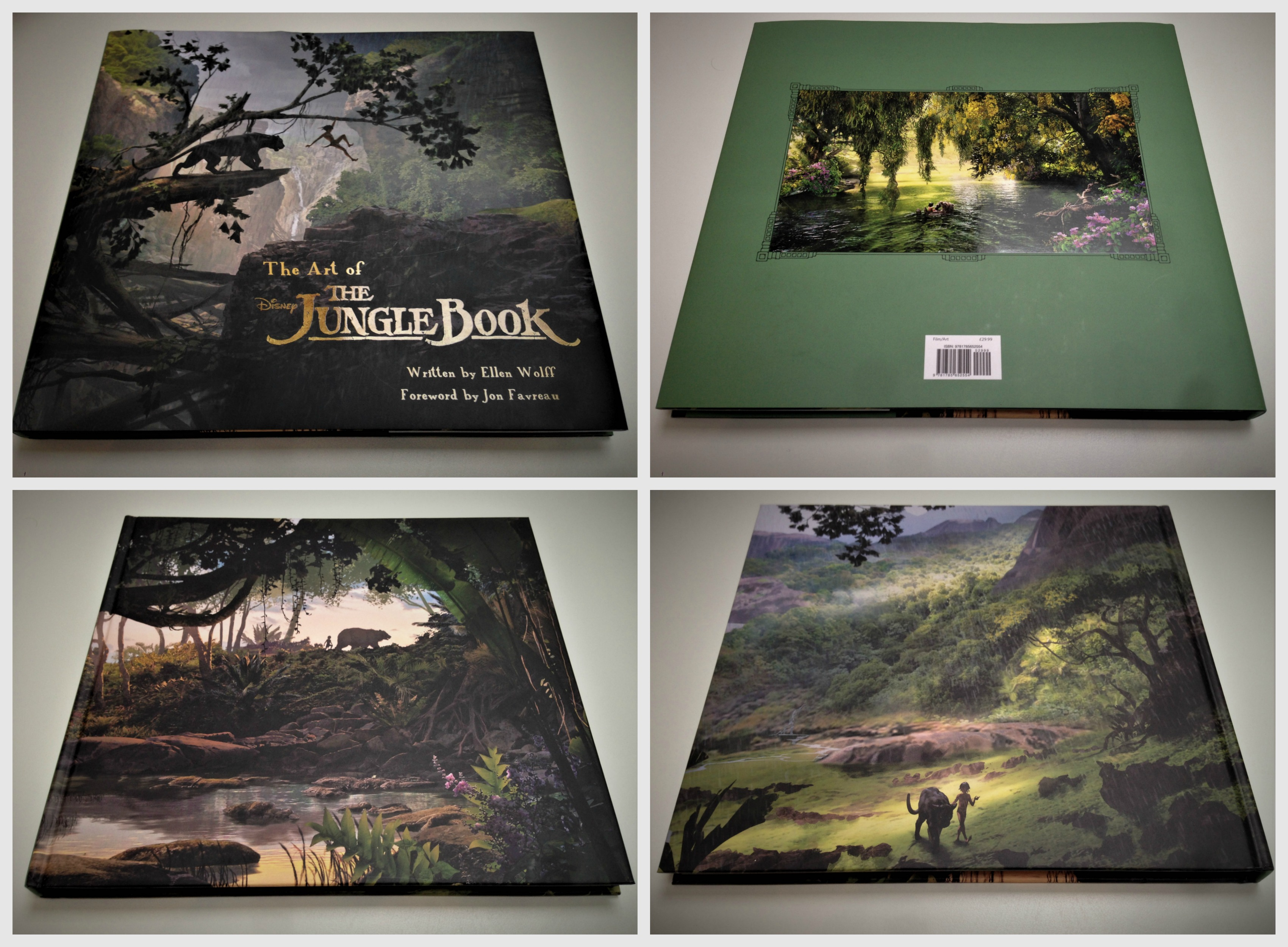 The Art of the JungleBook - Disney - Titan Books - Jon Favreau - Fiktion & Kultur - The Jungle Book - Junglebogen - Elen Wolff (3)