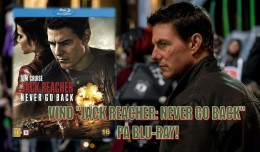 jack reacher never go back - tom cruise - blu-ray