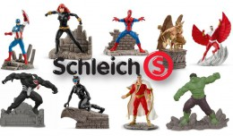 Schleich-superhelte - DC Comics - Marvel Comics