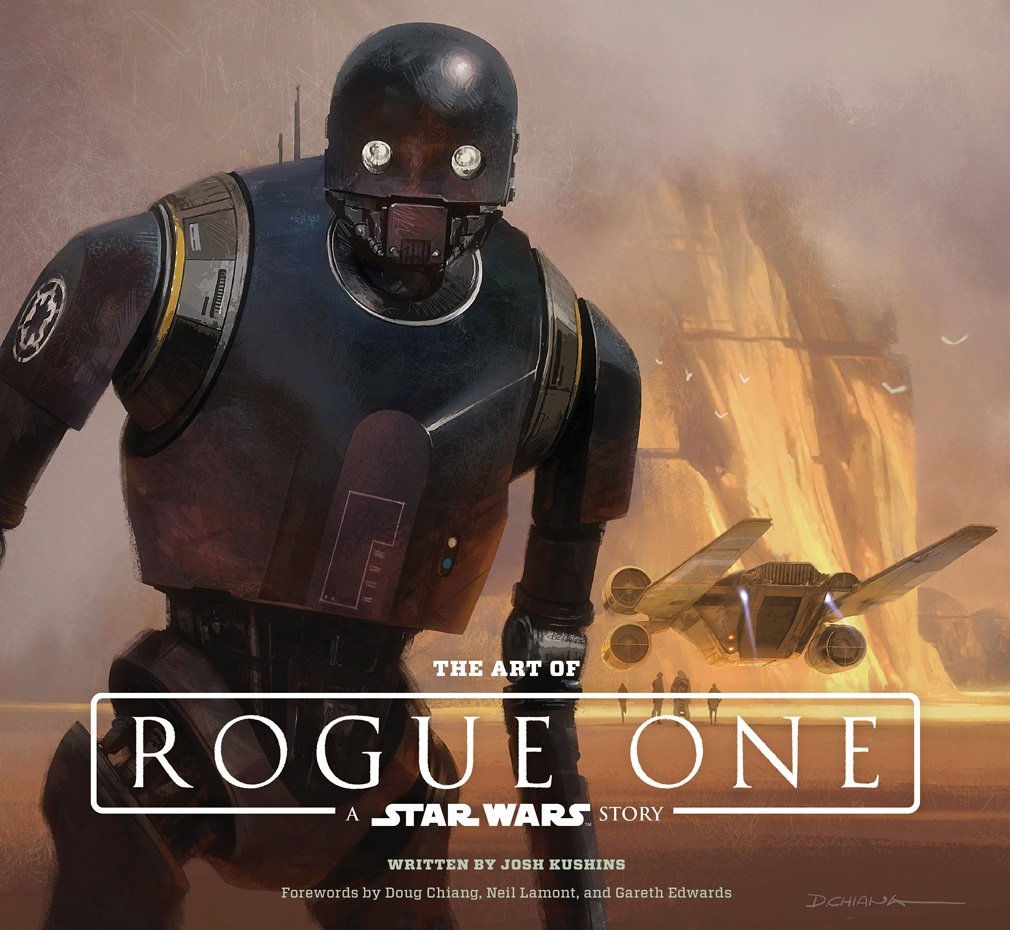 29 - The Art of Rogue One - Star Wars - Rogue One - Bog- Cover - Fiktion og Kultur - Plusbog.dk