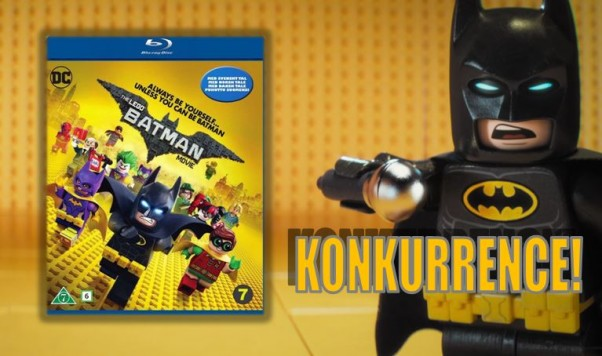 Batman The Lego Movie konkurrence