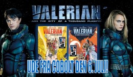Linda & Valentin - Forlaget Cobolt - Valerian and the City of a Thousand Planets - Luc Besson